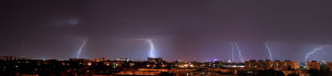 Lightning wide